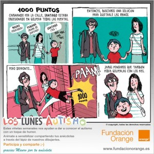 Los lunes Autismo - 1000 puntos