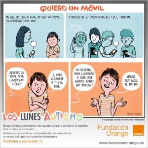 Los lunes Autismo - Quiero un móvil