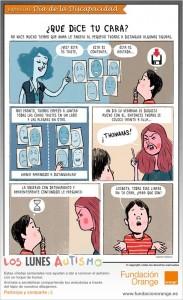 Los lunes Autismo - ¿Qué dice tu cara?