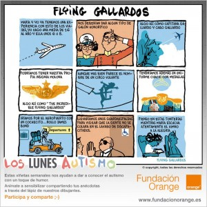 Los lunes Autismo - Flying Gallardos