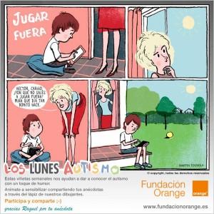 Los lunes Autismo - Jugar fuera