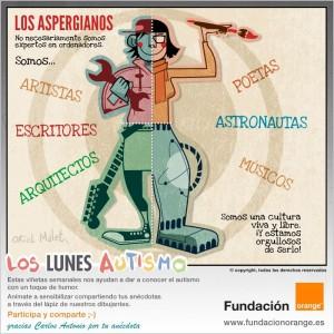 Los lunes Autismo - Los aspergianos