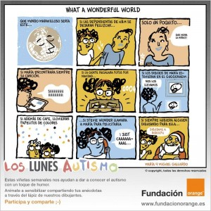 Los lunes Autismo - What a wonderful world