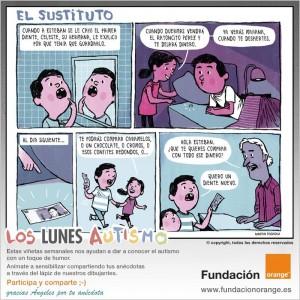 Los lunes Autismo - El sustituto