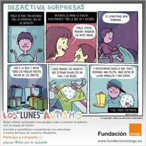 Los lunes Autismo - Desactiva sorpresas