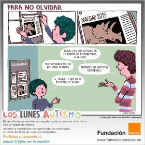 Los lunes Autismo - Para no olvidar