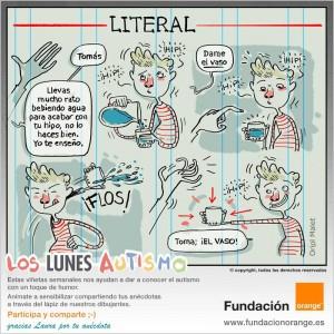 Los lunes Autismo - Literal