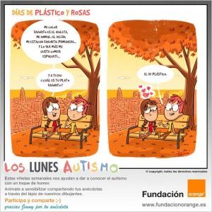 Los lunes Autismo - Días de plástico y rosas