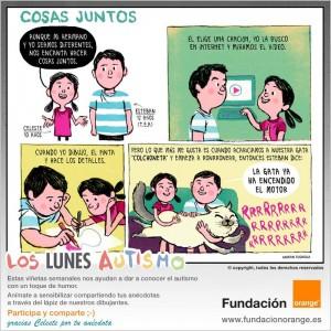 Los lunes Autismo - Cosas juntos
