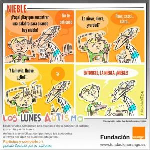 Los lunes Autismo - Nieble
