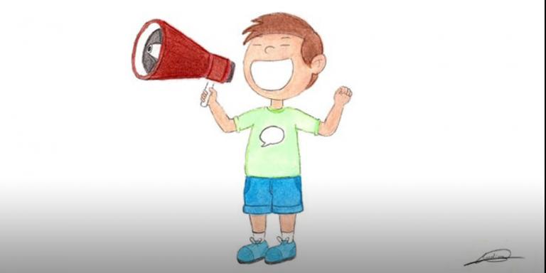 La voz de los niños