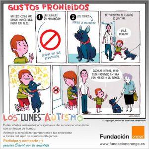 Los lunes Autismo - Gustos prohibidos