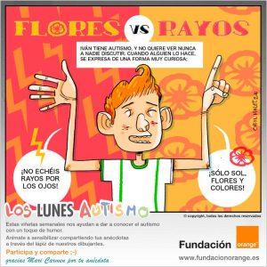 Los lunes Autismo - Flores vs. Rayos