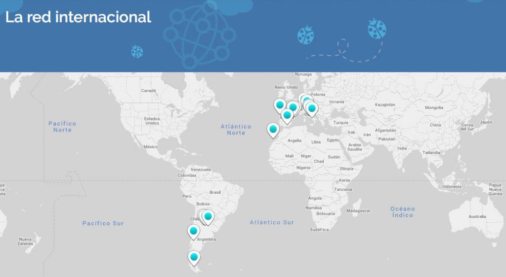 La ciudad de los niños - La red internacional