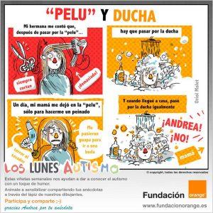 """Los lunes Autismo - """"Pelu"""" y ducha"""