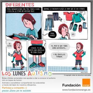 Los lunes Autismo - Diferentes