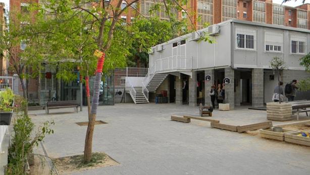 Congrés-Indians: una escuela viva y activa de Barcelona