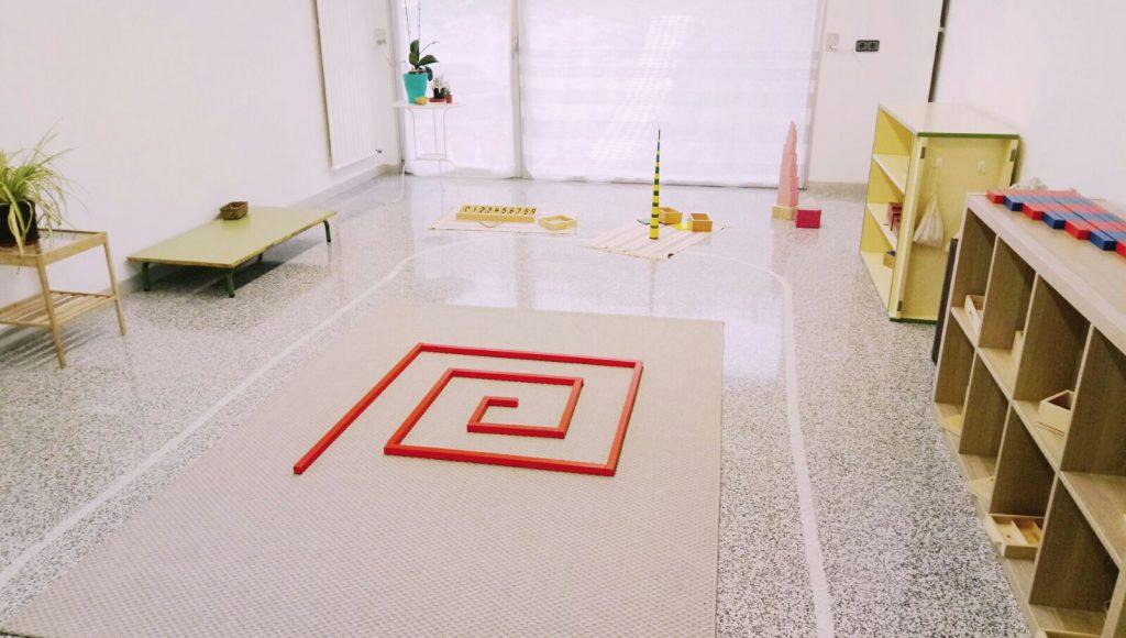 Mendigoiti IP - Espacio de matemáticas Montessori