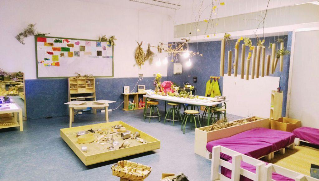 Mendigoiti IP - Uno de los espacios de referencia de Educación Infantil