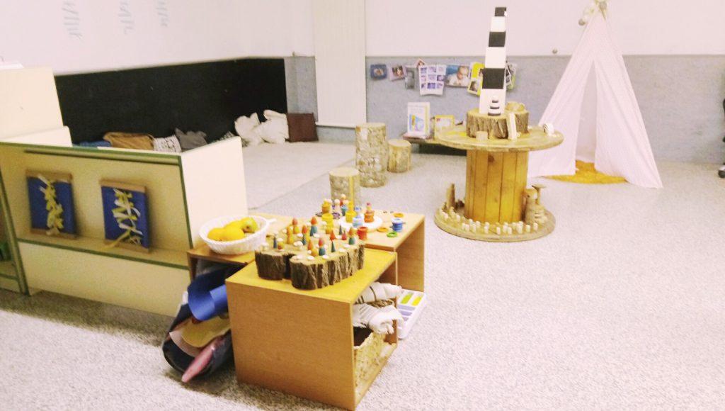 Mendigoiti IP - Uno de los espacios de referencia de Educación Primaria
