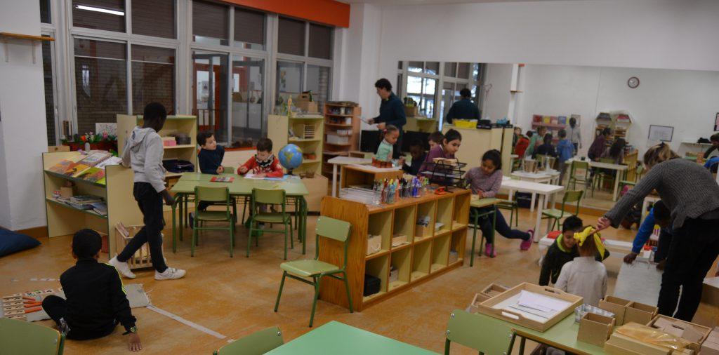 CP García Galdeano - Una de las aulas de referencia de Educación Primaria